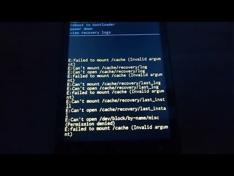 Tips atasi masalah Failed To Mount System (Invalid Argument) pada IMO S89 Miracle via TWRP