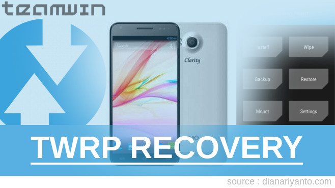 TWRP Recovery IMO Q8 Clarity Berhasil 100%